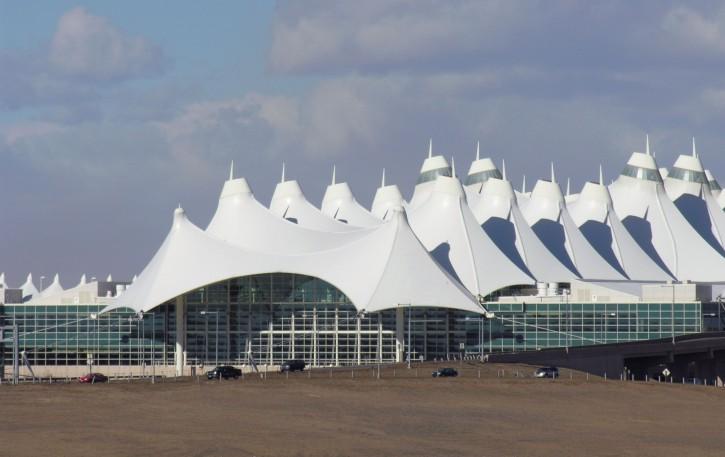 Международный аэропорт Денвера США штат Колорадо