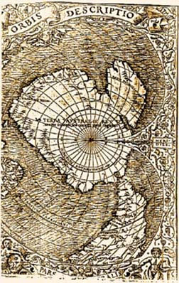 Свастика в Антарктическом озере