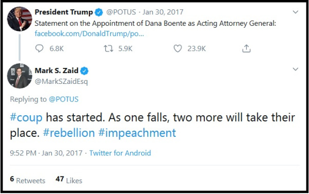 Impeachment Coup Against Trump Warned Paves The Path To Jail For Top Obama-Clinton Officials Cup21
