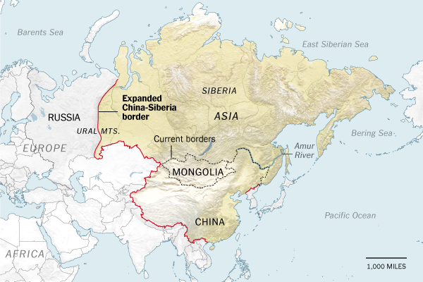 Obama regime new border plan for Russia-China