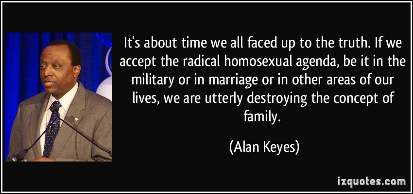 Obama homosexual agenda