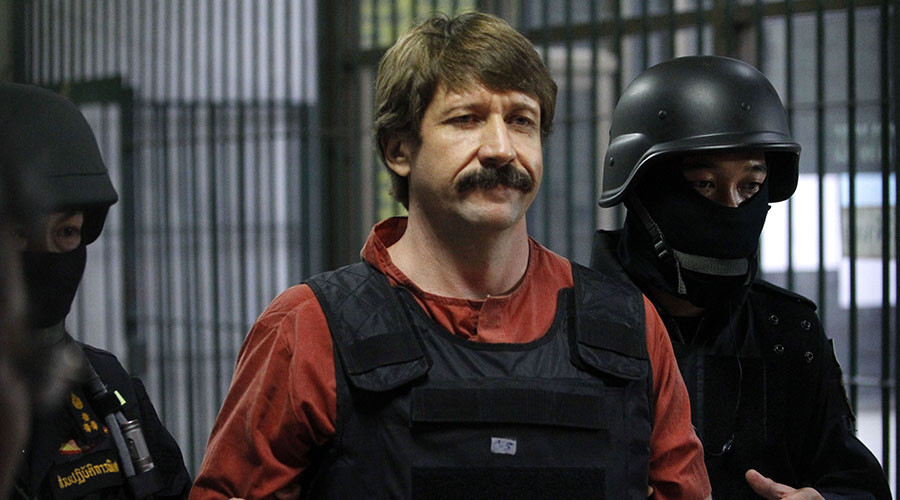 CIA illegal arms smuggler Viktor Bout