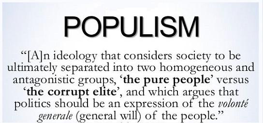 John Lukacs vs. Populism