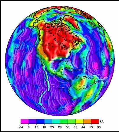 Magnetic Anomaly Map Of The World.Russia Issues Grim Report On North American Magnetic Anomaly