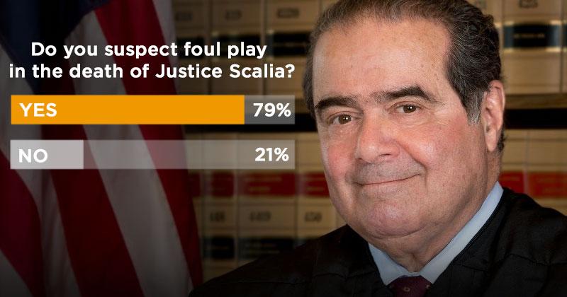 El juez Scalia había tenido una cita secreta con Obama, horas antes de ser asesinado