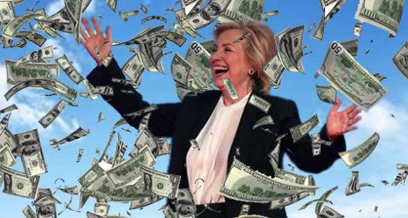 """Hillary Clinton """"Money Grab"""" Causes US Election Chaos-With Civil War Not Far Behind Vvee2"""